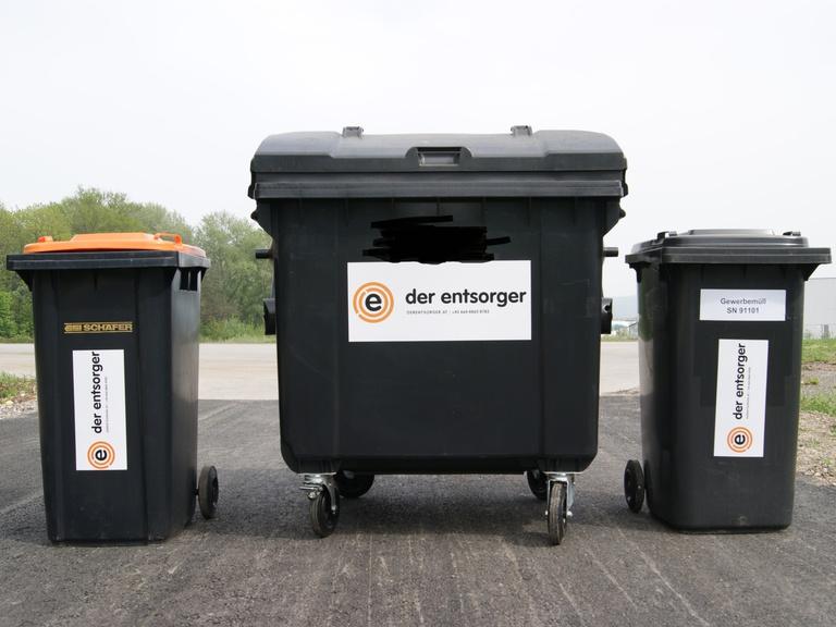 Neues Service !!!! Klein Behälter für Baustellen Entsorgung